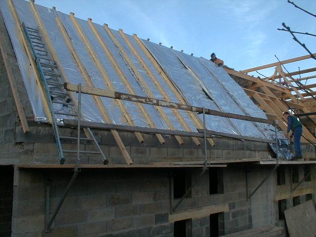 Int rieur entreprise paugam for Isolation toiture interieur